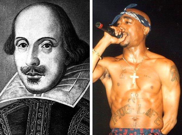 8. Shakespeare okuyor ve ondan ilham alıyordu...