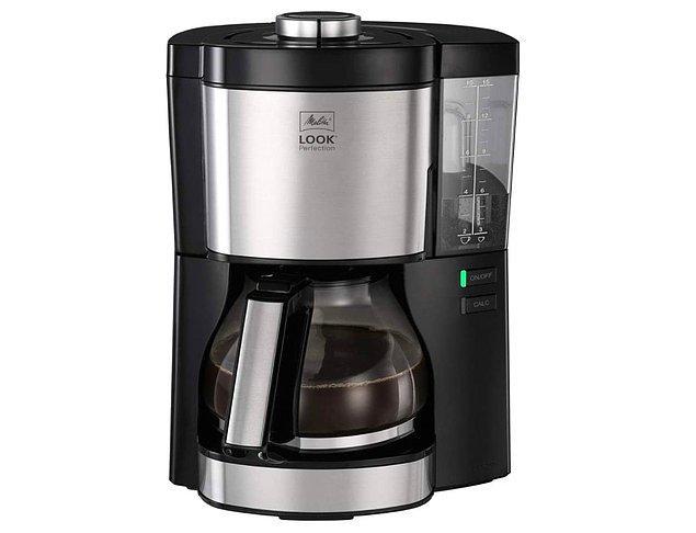 11. Cam sürahili filtre kahve makinesine bayılmamak elde değil...