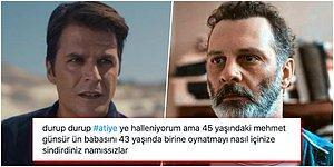 Klasik Mehmet Günsür Problemi... Ünlü Oyuncunun Atiye'de Babası Rolündeki Fatih Al'dan 2 Yaş Büyük Olması Dillere Düştü