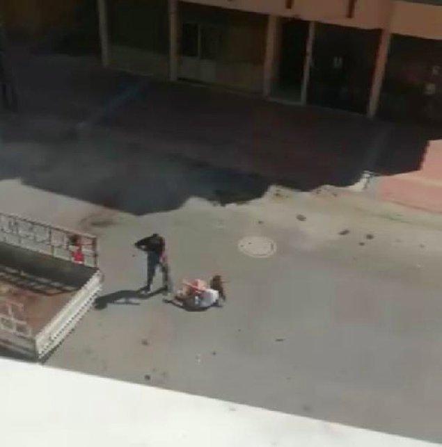 Pompalı tüfekle ateş açtı
