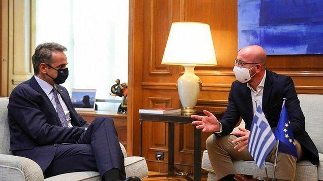 """Michel: """"Gerginliğin azaltılması için çaba harcıyoruz"""""""