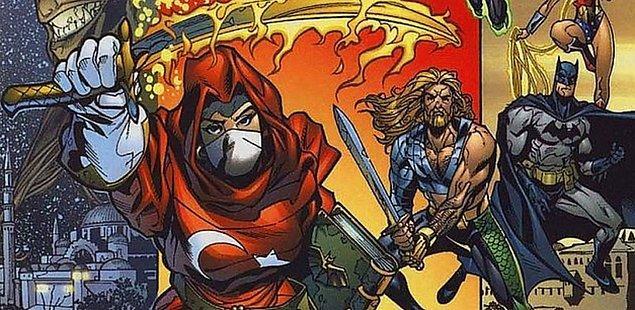 20. Ve son olarak DC çizgi romanlarındaki Yeni Çeri karakteri.