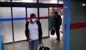 Siyahi Yolcuyu Trabzonspor'un Yeni Transferi Sanarak Röportaj Yapmaya Çalışan Gazeteciler