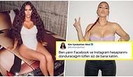 Kim Kardashian Dezenformasyona Tepki Olarak Facebook ve Instagram Hesaplarını Donduracağını Açıkladı!