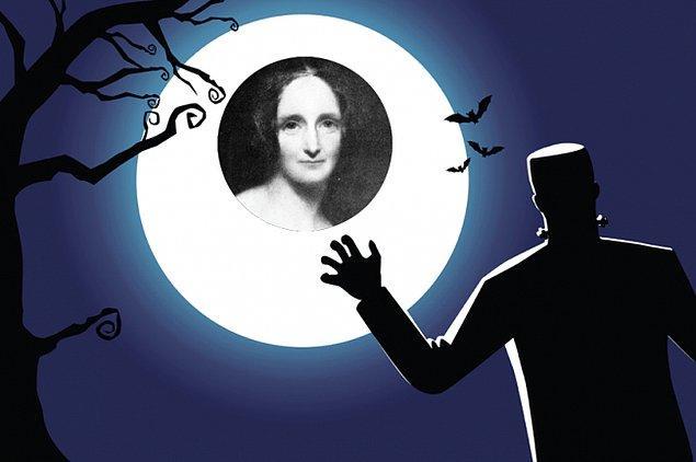 1. Mary Shelley- Frankenstein