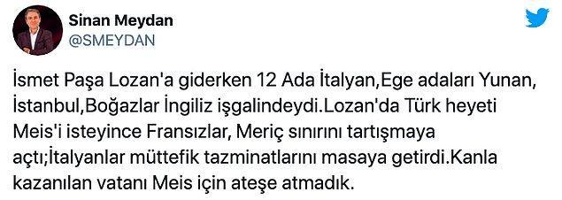 Çavuşoğlu'nun yorumuna sosyal medyadan tepkiler 👇