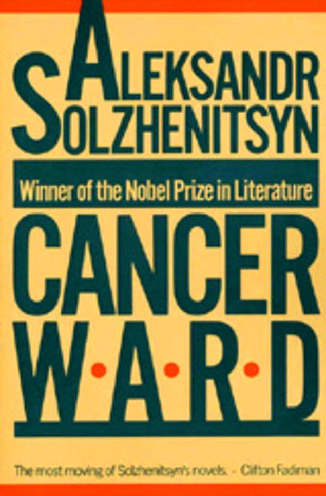 5. Aleksandr Soljenitsyne- Kanser Koğuşu