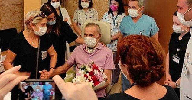 'Hastane personeline sonsuz minnet duyuyorum...'