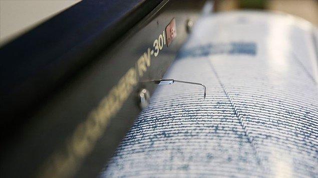 Muş'un Korkut ilçesi 4.1'lik depremle sallandı