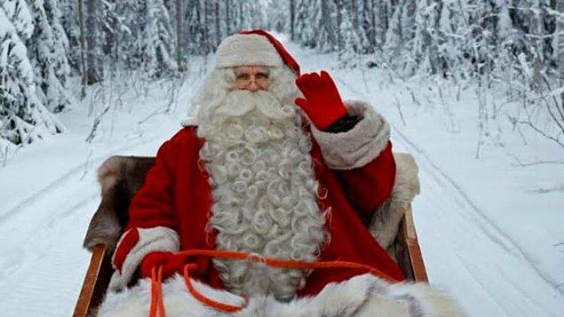 1. Her yılbaşı usanmadan beklediğimiz Noel Baba...