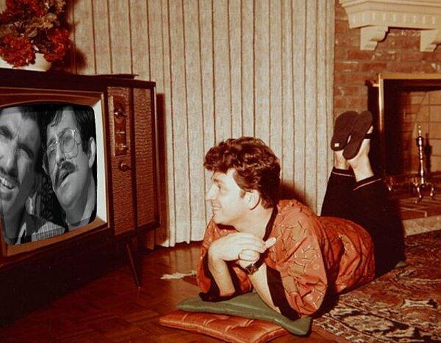 7. Ne yani televizyondaki insanlar bizi göremiyor mu?