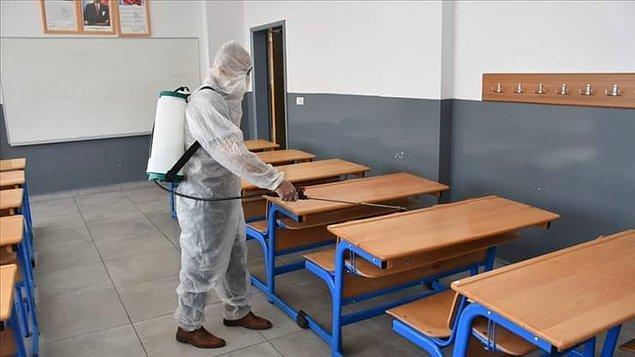 'Okulum temiz' belgesi alındı