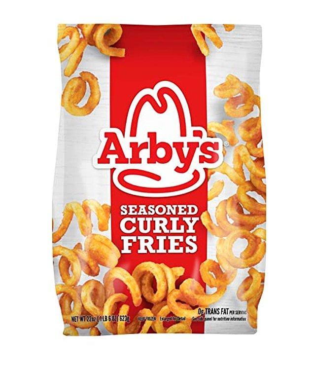 22. Arby's Kıvırcık Patates