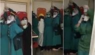 Sağlık Çalışanları Yine Saldırıya Uğradı: Kapıya Barikat Kurup Kendilerini Korumaya Çalıştılar