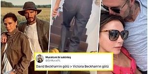 Bu Evliliğin Kaçıncı Seviyesi? David Beckham Merdiven Çıkan Victoria Beckham'ın Kalçalarını Paylaştı Ortalık Yıkıldı