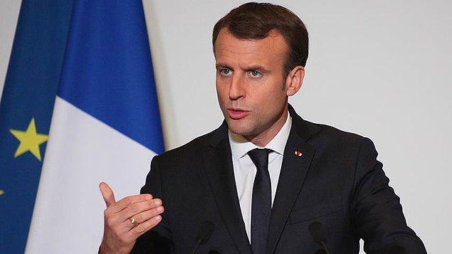 Macron: Türkiye ile diyaloğa hazırız