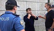 Maskesiz Motorlu Kuryeden Polise Tehdit: 'Kimliğimi Vermem, Sen Zor Kullan, O Zaman Görüşürüz'