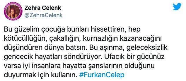 Celep'in intiharı sonrası sosyal medyadan da yorumlar geldi...