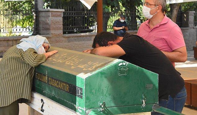 Konya'nın Çumra ilçesinde yaşayan ve farklı okullarda sınıf öğretmenliği yapan çiftin acı günü.