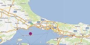 İstanbul'da da Hissedildi: Tekirdağ Açıklarında 4,2 Büyüklüğünde Deprem