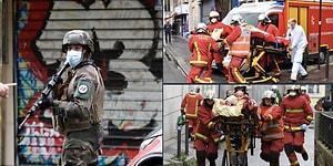 Paris'te Charlie Hebdo Dergisi Yakınlarında Bıçaklı Saldırı