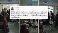 Çapa'da Sağlık Çalışanına Şiddet: Maskesini Doğru Takması İçin Uyardığı Kişinin Saldırısına Uğradı
