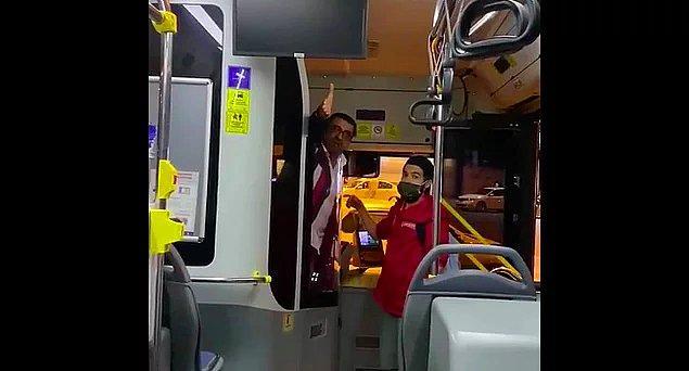 10. Bisikletli olduğu için kadın yolcuyu otobüse bindirmek istemeyen otobüs şoförünün yolcuya saldırması...