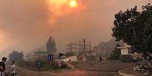 Ege'de Orman Yangınları: Söke'de 50 Ev Tahliye Edildi, Bergama'daki Yangın Balıkesir'e Sıçradı
