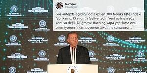 Gaziantep'te Açılışı Yapılan Fabrikaların Bir Kısmının Daha Önceden Açıldığı, Bazılarının ise Yıllardır Faal Olduğu İddia Edildi