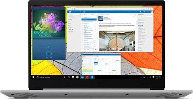 "7) Lenovo IdeaPad S145 81UT001ATX Ryzen 7 3700U 8 GB 512 GB SSD Radeon Vega 10 15.6"" Full HD Notebook"