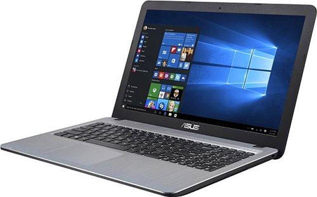 "10) Asus X540UB-DM1716 i7-7500U 8 GB 256 GB SSD MX110 15.6"" Full HD Notebook"