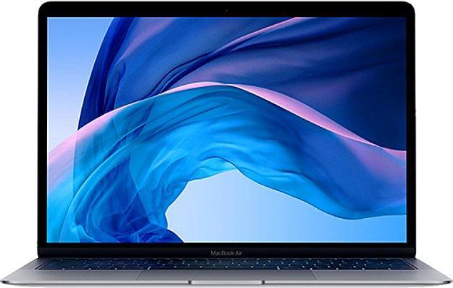 "5) MacBook Air MWTJ2TU/A i3 8 GB 256 GB SSD Iris Plus Graphics 13.3"" Notebook"
