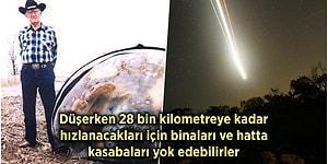 On Yıl İçinde Gökyüzünün Dört Yanını Saracak Uydular Dünya'ya Düşse Ne Olurdu?