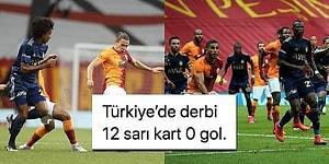 12 Sarı Kartın Çıktığı Zevkli Derbi Golsüz Beraberlikle Sonuçlandı! Galatasaray-Fenerbahçe Maçında Yaşananlar ve Tepkiler