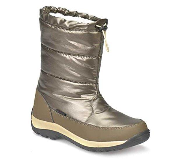 10. Sonbahar ve kışın vazgeçilmezi; trend, modern kadın botu outdoor tarzıyla karşınızda.