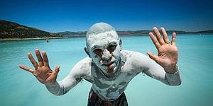 Salda Gölü'nün 'Beyaz Adalar' Bölgesinde Göle ve Plaja Giriş Yasaklandı