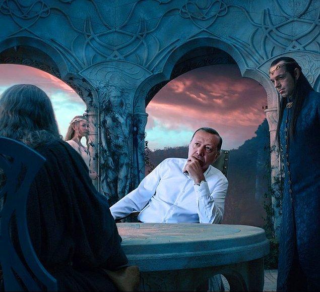 13. Ey Sauron! O yüzüğü hemen yok et!