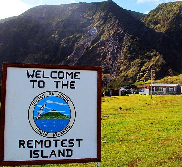 Tristan da Cunha, 2015 yılından beri 300 kişilik nüfusunu koruyor.