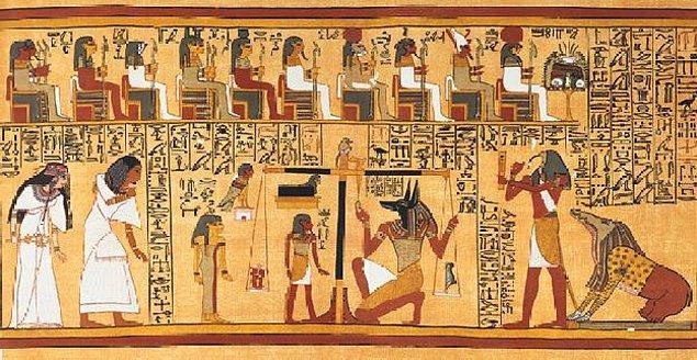 Üstelik M.Ö. 1147 yılına ait papirüslere bakıldığında toprak sahibi kişilerin %10'unu kadınlar oluşturuyordu.