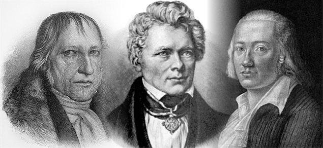 Ve genç Hölderlin'in damarlarında felsefe dolaşmaya başladığı yıllar yine Tübingen yılları olur. İdealizmin babası Hegel ve yine önemli bir idealist Schelling ile okul arkadaşıdır artık.