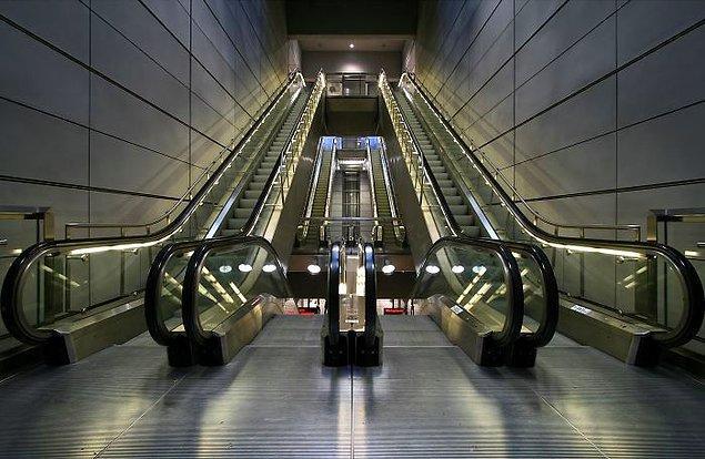 10. Yürüyen merdivene kapılarak hayatını kaybeden birçok kişi vardır.