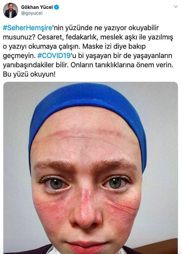 Sosyal medyada da Seher hemşireye destek çığlıkları büyüdü 👇