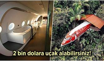 Sıradan Bir Evde Yaşamayı Reddeden İnsanların Yuvaları Haline Getirdiği İlginç Uçaklar