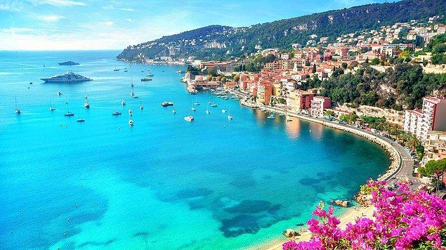 Akdeniz ve Alpler'in mükemmel buluşması ile tam senlik; Fransız Rivierası!
