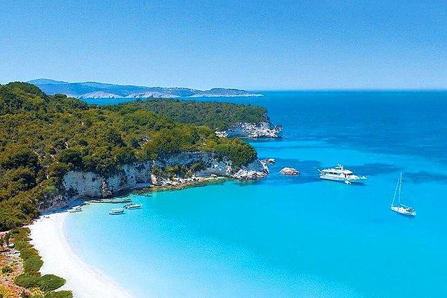 Deniz, kum, güneş ve sen; Yunan Adaları!