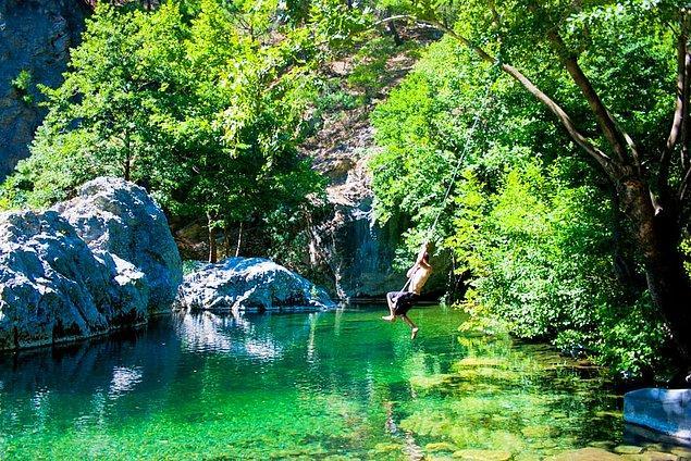 Doğa seni çağırıyor, sen doğayı; Kaz Dağları!