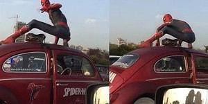 Türkiye'de Spiderman Olmak: 'Kolay Gelsin Spiderman' Sözüne 'Selamünaleyküm' Cevabı
