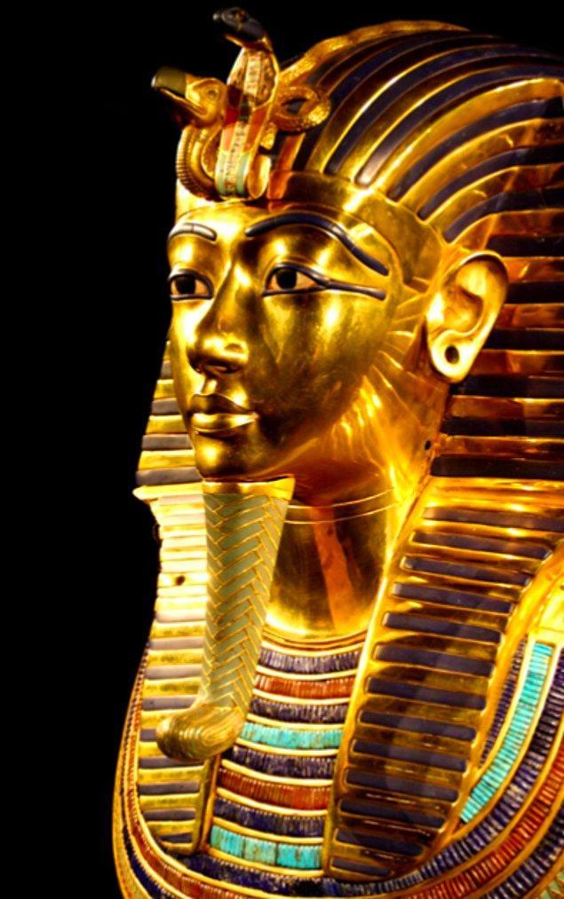 16. Tutankhamun'un ebeveynleri kardeşti.