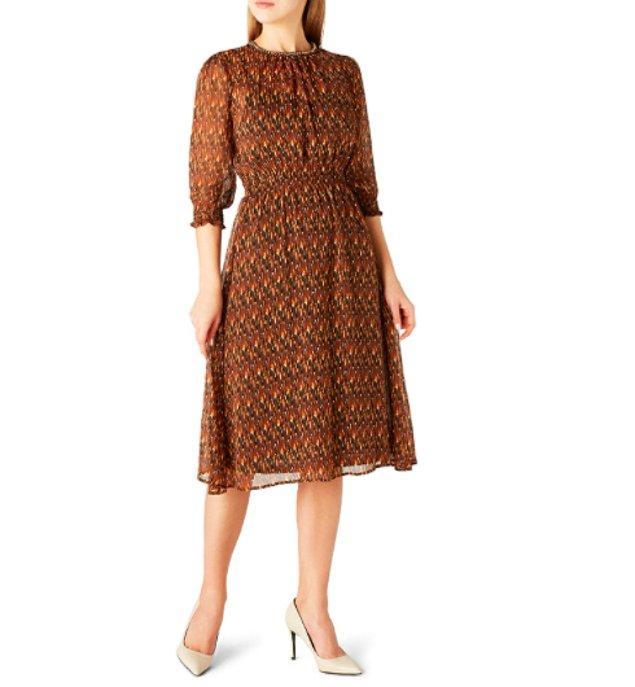 """4. """"Havalar soğusa da elbiseden vazgeçmem."""" diyenlere: İş yerinde de rahatlıkla giyebileceğiniz bir model."""