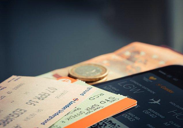 8. Uçak biletleri erişilmezdi.